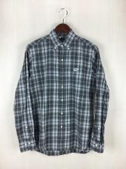 BDシャツ/36/コットン/グレー/チェック/5114-31540
