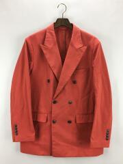 オックスフォード6Bジャケット/L/ナイロン/オレンジ/1121-110-5295
