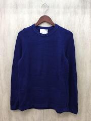 セーター(薄手)/38/コットン/ブルー/H1N71-444-27