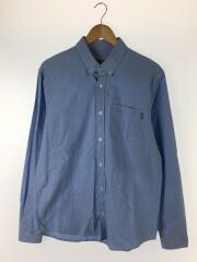 WIP/L/S BUTTON DOWN POCKET/L/コットン/ブルー/1022069.KY.90.03