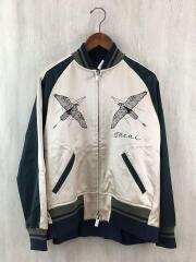 19SS/×Dr.Woo/Souvenir jacket/スカジャン/2/コットン/ベージュ/19CDGW-56
