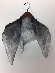 シルクムラ染スカーフ/シルク/GRY