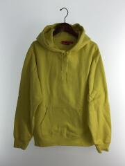 18ss/Illegal Business Hooded Sweatshirtパーカー/L/コットン/YLW/無地