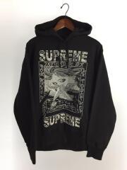 シュプリーム/パーカー/M/コットン/BLK/19AW/Doves Hooded Sweatshirt