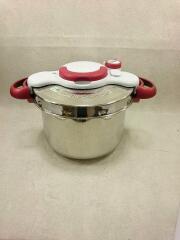 クリプソミニット/付属レシピ本//中かご欠品/圧力鍋/容量:6L/SLV
