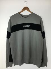 プーマ/スウェット/L/ポリエステル/BLK/タグ付