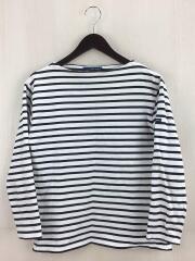 バスクシャツ/長袖Tシャツ/36/コットン/ボーダー