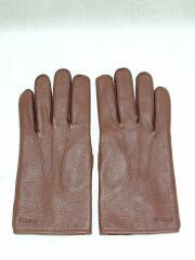 手袋/レザーグローブ/BRW/24cm
