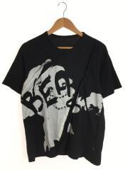 B Yohji Yamamoto ビーヨウジヤマモト/Tシャツ/2/コットン/ブラック/総柄// プリント