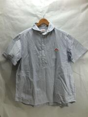 半袖シャツ/40/コットン/WHT/ストライプ/19SS