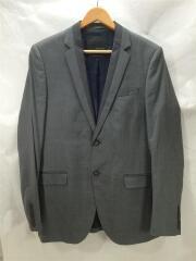 スーツ/セットアップ/38/ポリエステル/GRY