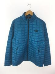 LIGHTWEIGHT THERMOBALL JACKET/L/ナイロン/BLU/NF0A3JPO