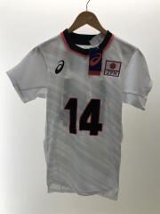 2053A085 全日本男子ユニフォーム/スポーツウェアー/M/WHT/ASICS