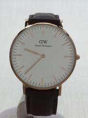 クォーツ腕時計/アナログ/替えベルト付き/0506DW