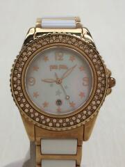 クォーツ腕時計/アナログ/WF1R001BZW-XX