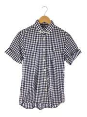 半袖シャツ/2/コットン/BLU/ギンガムCK