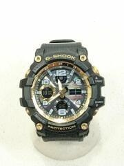 ソーラー腕時計・G-SHOCK/GWG-100GB/デジアナ/ラバー/BLK/BLK/カシオ/電波 MUDMASTER マッドマスター