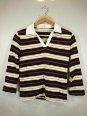 ポロシャツ/160cm/コットン/BLK/ボーダー/BP285-920-09