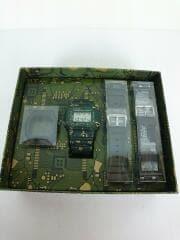 クォーツ腕時計/デジタル/ラバー/GRN/マルチカラー/カシオ/dwe-5600cc-3jr/