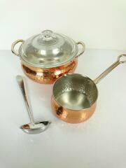 鍋/2点セット/カレーポット&ミルクパンセット/銅鍋
