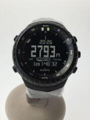 SUUNTO CORE/SS014279010/腕時計/デジタル/ラバー/BLK/GRY