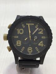 クォーツ腕時計/アナログ/ステンレス/BLK/BLK/51-30 SIMPLIFY