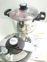 圧力鍋/容量:6L/SLV T-fal