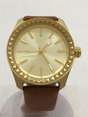 クォーツ腕時計/DZ-5409/アナログ/--/BRW