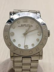 MBM3054/クォーツ腕時計/アナログ/ステンレス/WHT/SLV