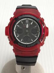 ソーラー腕時計/G-SHOCK/AWG-M100SRB/デジアナ/ラバー/BLK/BLK