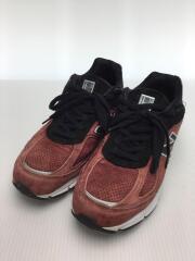 ローカットスニーカー/シューズ/靴/M990RB4/27cm/BRD/スウェード