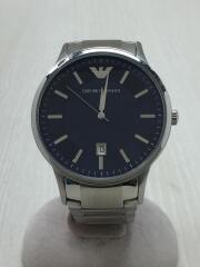 クォーツ腕時計/AR-11180/レナト/アナログ/ステンレス/NVY