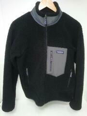 フリースジャケット/レトロX/STY23056/S/ポリエステル/BLK