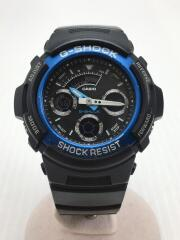クォーツ腕時計・G-SHOCK/AW-591/デジアナ/BLK/BLK