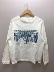 長袖Tシャツ/ロンT/CMF1901-CS/M/コットン/WHT