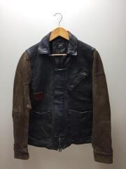 レザージャケット・ブルゾン/GB0419/JKT02/1/羊革
