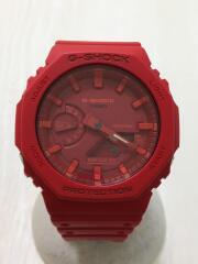 クォーツ腕時計・G-SHOCK/デジアナ/RED/RED