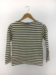 長袖Tシャツ/XXS/コットン/NVY/ボーダー
