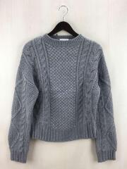 セーター(厚手)/--/ウール/GRY/16131052944