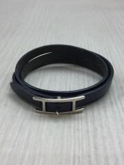 アピ3/ブレスレット/ レザー/ブラック