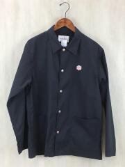 ジャケット/40/ポリエステル/ブラック/黒/タグ付き