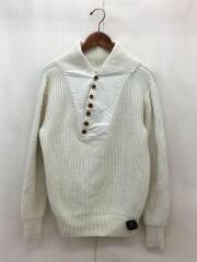 セーター(厚手)/FREE/ウール/クリーム