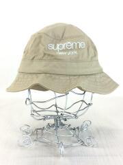バケットハット/S/コットン/ベージュ/classic logo crusher hat