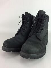 ブーツ/9M/BLK/レザー/10073/6inch PREMIUM BOOTS BLACK/使用感有