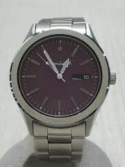 クォーツ腕時計/アナログ/ステンレス/ピンク/シルバー/7N43-0BN0