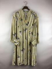 Kielyr printed flared dress/長袖ワンピース/36/ポリエステル/IVO/花柄