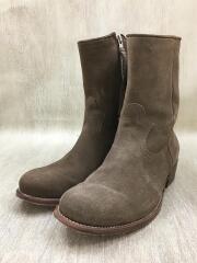 ブーツ/US9/BRW/スウェード/16159