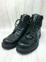 ブーツ/--/BLK/レザー/8ホール