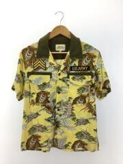 アロハシャツ/XL/レーヨン/YLW