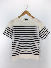 Tシャツ/42/コットン/ボーダー